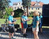 Jubilejní 15. ročník Cyklo-běhu za Českou republiku bez drog projel Kutnou Horou