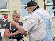 Slavnostní otevření babyboxu v Kutné Hoře 29. července 2014.