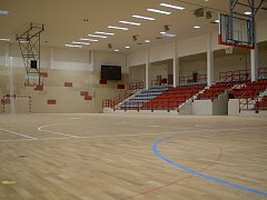 Sportovní hala Klimeška Kutná Hora.