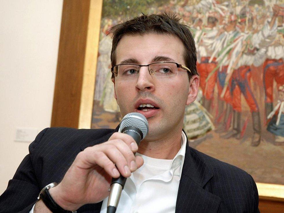 Bývalý ředitel Galerie Středočeského kraje Jan Třeštík.
