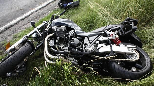 Tragická dopravní nehoda na silnici I/38 nedaleko křižovatky na Hlízov.