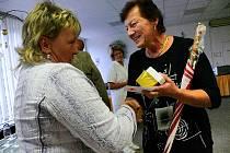 Oceňování dárců krve v čáslavské nemocnici