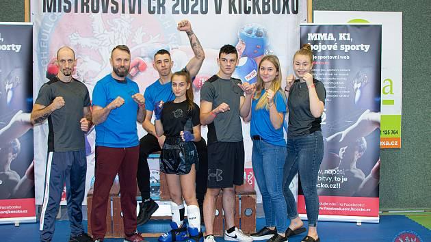 Kick Box Club Kutná Hora na MČR 2020.