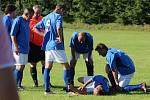 Fotbalová III. třída: TJ Rataje nad Sázavou - TJ Sokol Červené Janovice 7:3.