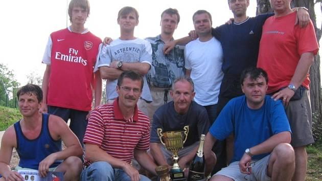 Finanční úřad - vítěz 1. ročníku turnaje O pohár Městské policie Kutná Hora.
