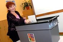 Volby na obecním úřadě v Chotusicích