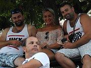 Kinematograf bratří Čadíků na Palackého náměstí v Kutné Hoře ve středu 1. srpna 2018.