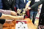 Kalendář 'První republika' od uznávaného fotografa Angela Purgerta pokřtili ve středu 24. října 2018 v knihkupectví Dobrovský na Václavském náměstí v Praze.