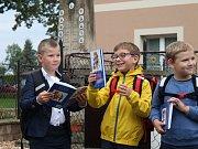 První školní den na ZŠ Církvice