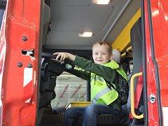 Den otevřených dveří na kutnohorské hasičské zbrojnici.