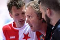 II. zápas semifinále play off CHANCE futsal ligy: SK Slavia Praha - FC Benago Zruč n. S. 7:2 (3:1), 10. května 2016.