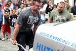Závody strongman profi 2016 v Kutné Hoře, 18. června 2016.