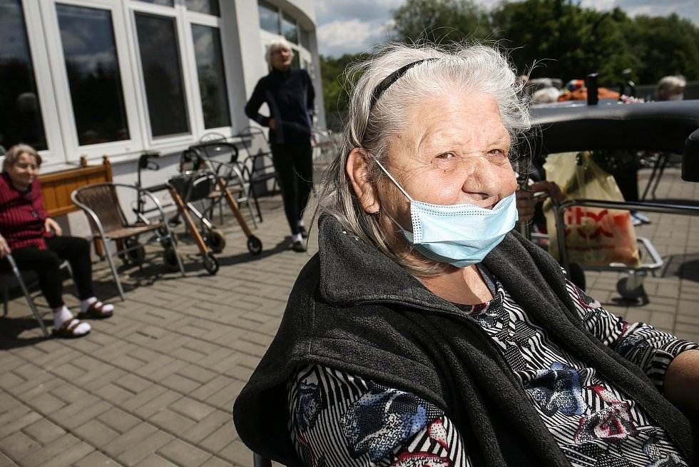Z Domova seniorů v Uhlířských Janovicích.