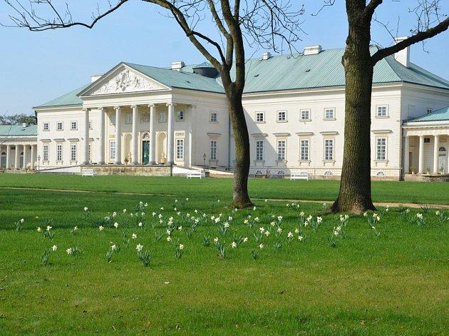 Zámek Kačina se připravuje na návštěvnickou sezónu 2017