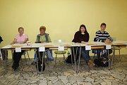 Parlamentní volby v sobotu v Kutné Hoře, budova kuželny.