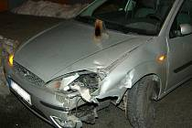 Nehoda na Kaňku.