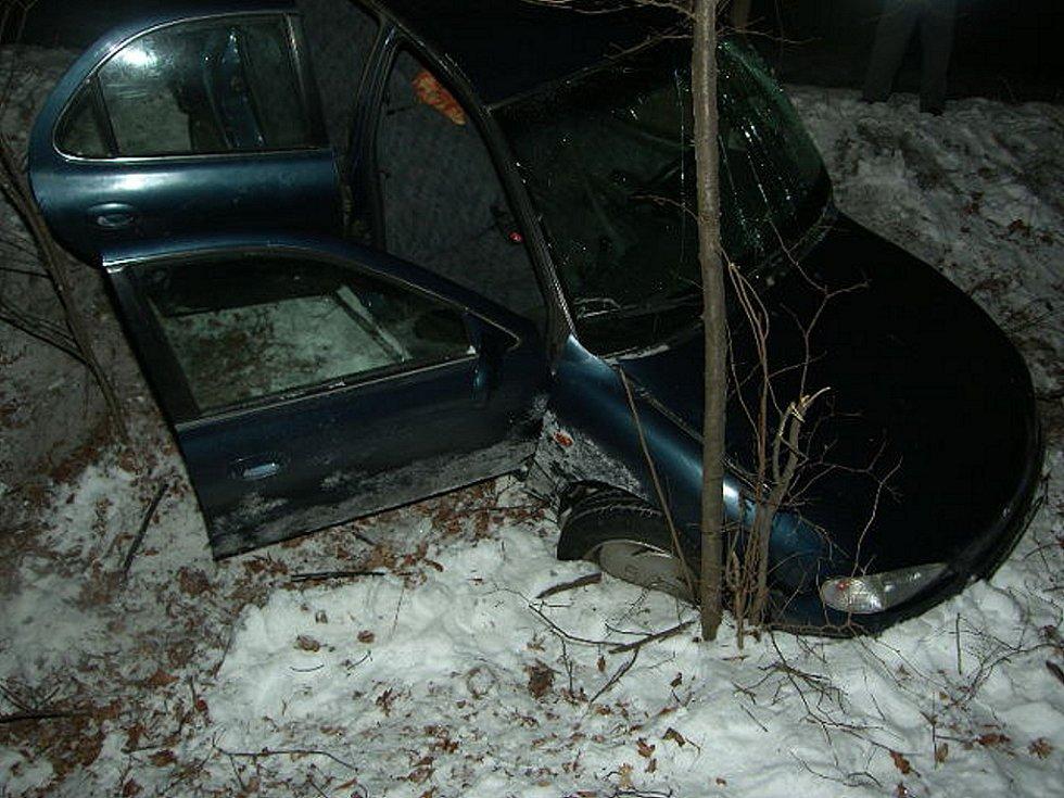 Dopravní nehoda mezi Košicemi a Polánkou.