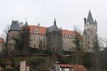 Vánoční jarmark na zámku ve Žlebech