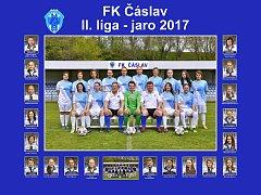 Fotbalistky FK Čáslav v sezoně 2016/17.