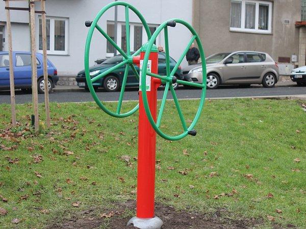 Cvičební prvky Sokolská ulice