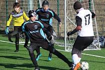 Zimní fotbalová příprava ligových mladších žáků U13: FC Slovan Havlíčkův Brod - FK Čáslav 1:9.