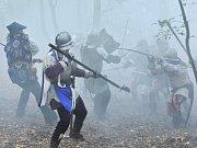 Výročí dobytí hradu Sion si připomněli v Chlístovicích.