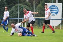 Fotbalová IV. třída, skupina B: SK Zbraslavice B - TJ Soběšín 1:5 (0:2).