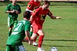 Fotbalová III. třída: TJ Sokol Červené Janovice - FC Bílé Podolí B 2:3 (1:1).