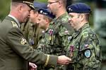 Baltic Air Policing 2009, slavnostní nástup k ukončení mise