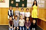 Základní škola Církvice, I. třída s učitelkou Michaelou Holáčikovou