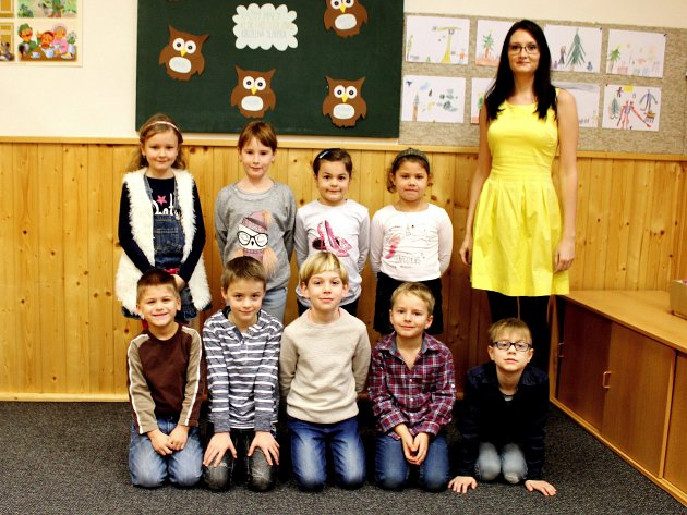 Základní škola Církvice, I. třída sučitelkou Michaelou Holáčikovou