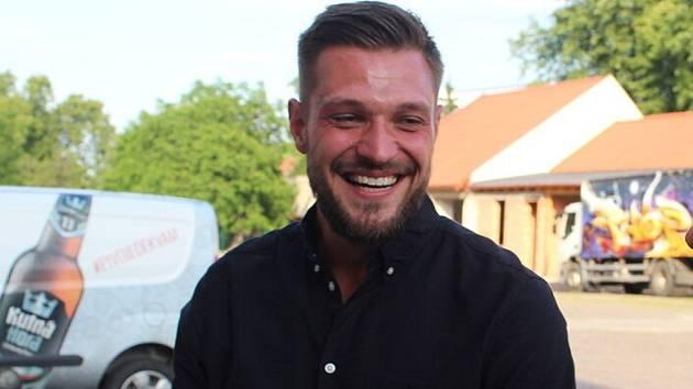 Fotbalista Štěpán Kacafírek.
