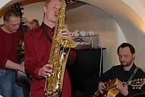Jazzová kapela Avelon.