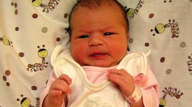 Sabina Dibelková se poprvé rozkřičela 1. května 2019 v 17.11 hodin v čáslavské porodnici. Pyšní se mírami 3450 gramů a 50 centimetrů. Doma v Golčově Jeníkově se na ti těší maminka Michaela, tatínek Milan a desetiletý brácha Štěpán.