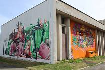 První ročník streetart festivalu v Kutné Hoře. Archivní foto ze srpna 2017.