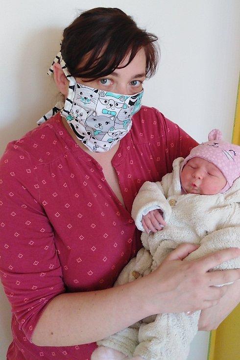 Štěpánka Vojtková se narodila 25. března 2020 ve 21.13 hodin v čáslavské porodnici. Pyšnila se porodními mírami 4200 gramů a 52 centimetrů. Domů do Bratčic si je odvezli maminka Veronika, tatínek Petr a pětiletá sestřička Eliška.