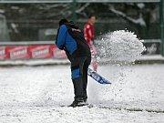 Fotbal na sněhu
