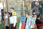 """Akce """"Čarodějnice na nečisto"""" se konala v sobotu na statku Dítě a kůň v Miskovicích."""