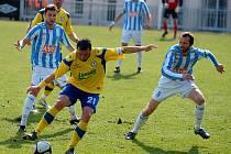 II. liga: Zenit Čáslav - Tescoma Zlín, 27. března 2011.