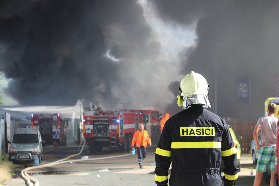 Požár na Karlově