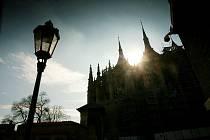Chrám svaté Barbory v Kutné Hoře.