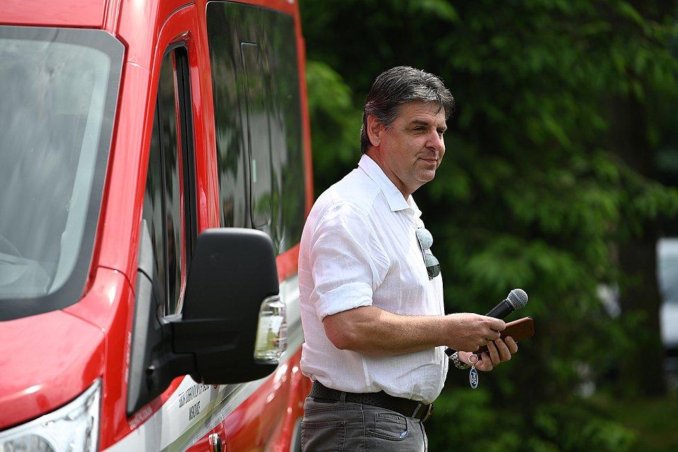 Z hasičského dne v Miskovicích.