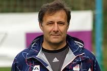Fotbalový rozhodčí a trenér Radek Pařez.
