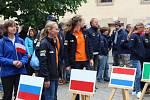 Slavnostní zahájení Mistrovství světa v bezmotorovém létání žen