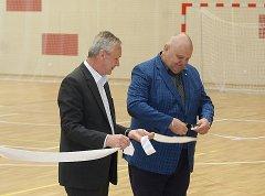 Sportovní hala Klimeška se otevřela veřejnosti
