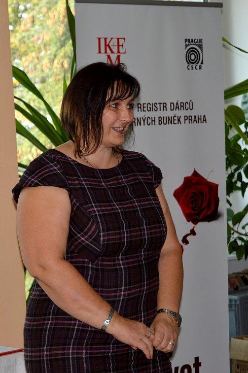 V Čáslavi ocenili bezpříspěvkové dárce krve.