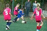 Z mistrovského turnaje fotbalových mladších přípravek na umělé trávě v Kutné Hoře.