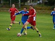 Fotbalisté Zruče nad Sázavou prohráli v 7. kole I. B třídy D s Jesenicí 0:2.