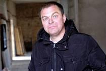 Jan Chejn, majitel pivovaru Sedlec. 13.11.2012