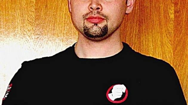 Majitel legálně držené zbraně Martin Malenický.
